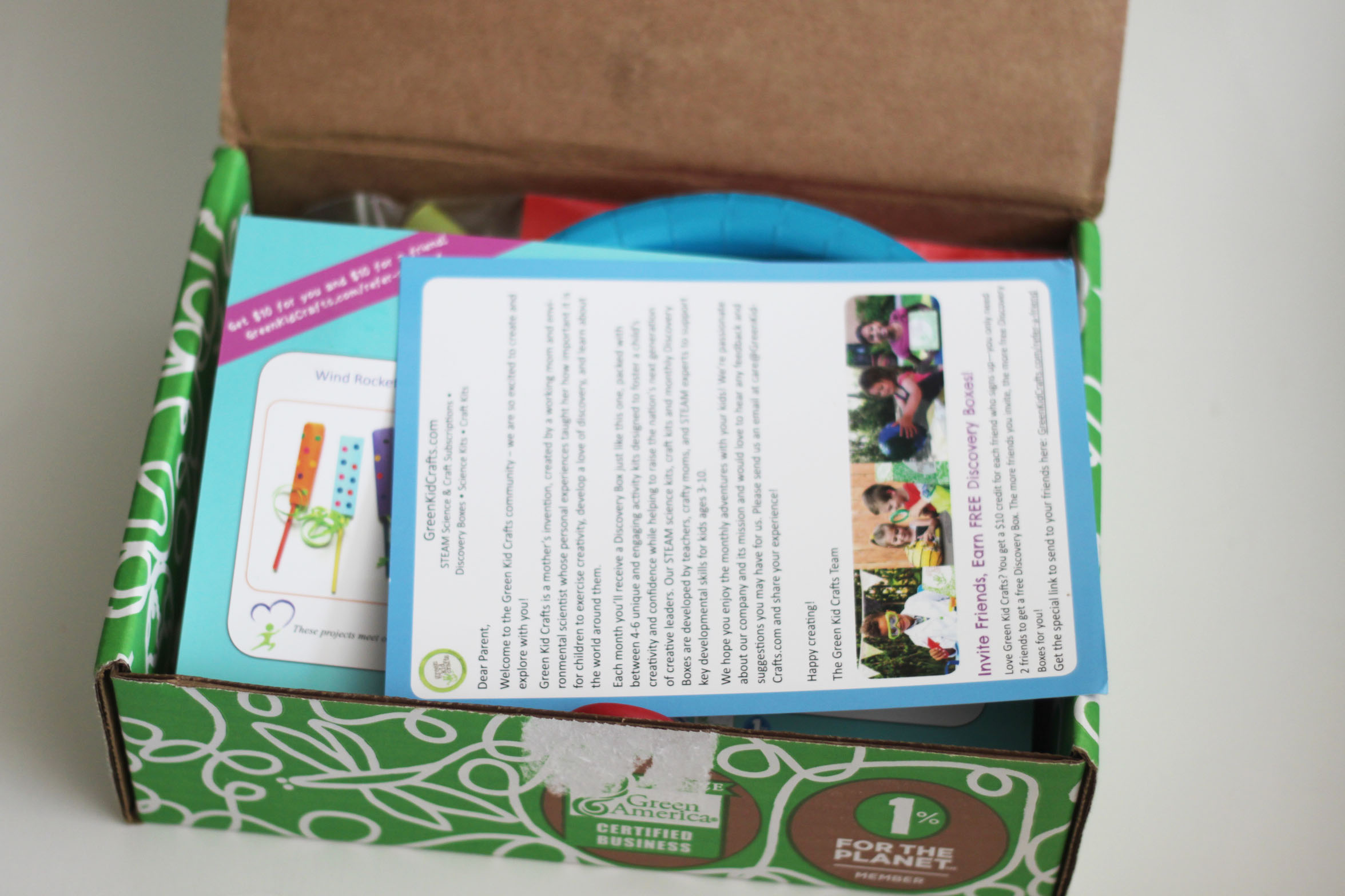 Green Kids Crafts April 2017 Review