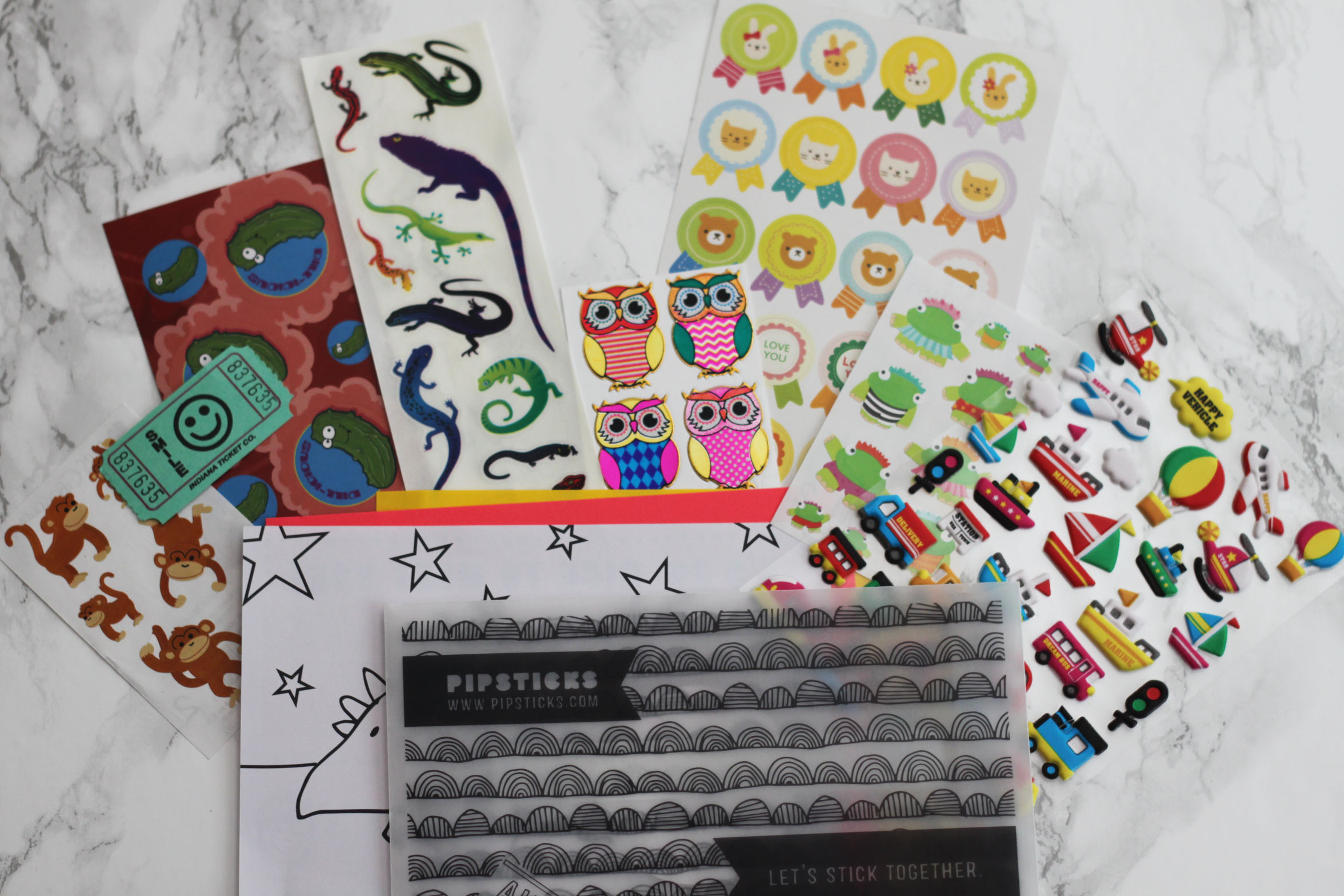 Pipsticks Kids Subscription Review – April 2017 + Coupon!