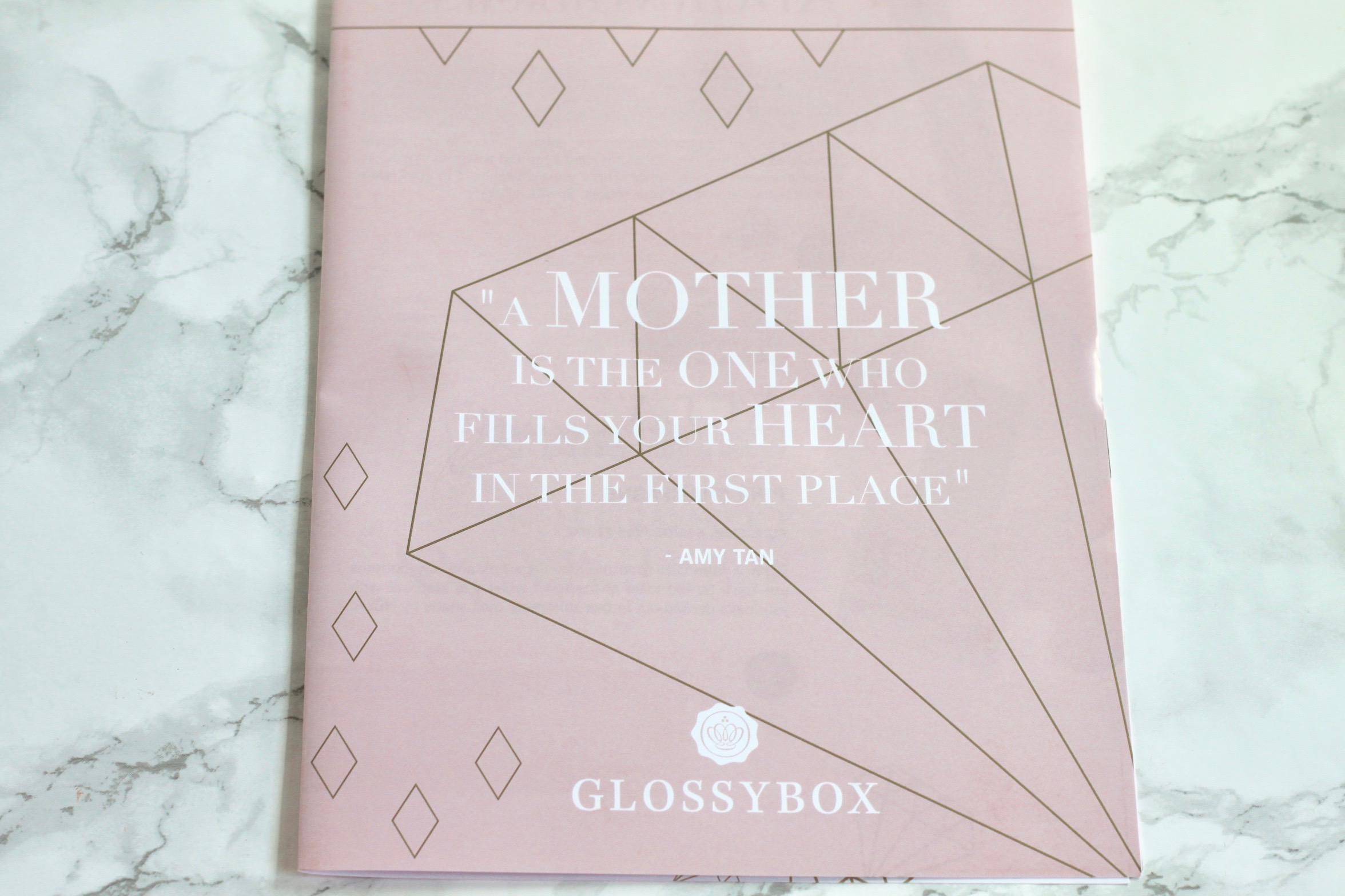 Glossybox Pink Limited Edition Mother's Day Box Review - 2017
