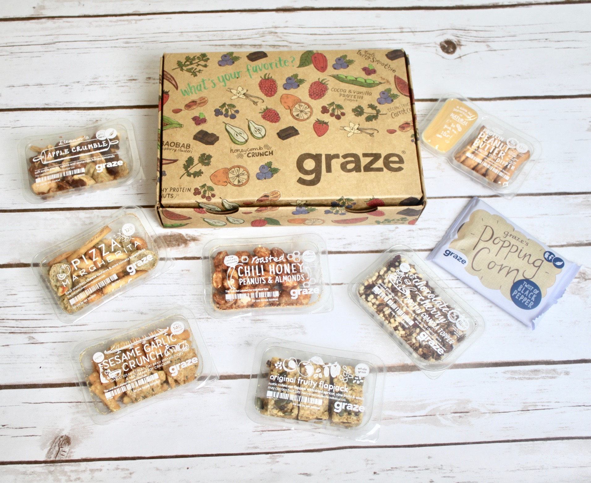 Graze Subscription Box Review – May 2017