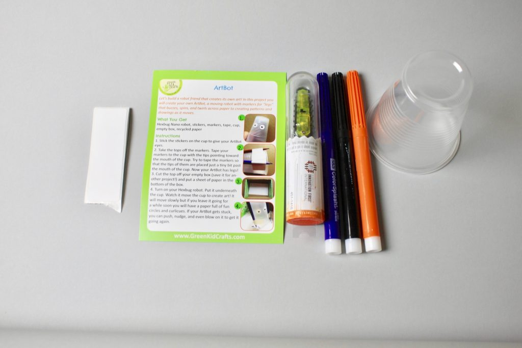 Green Kids Craft Subscription Box Review