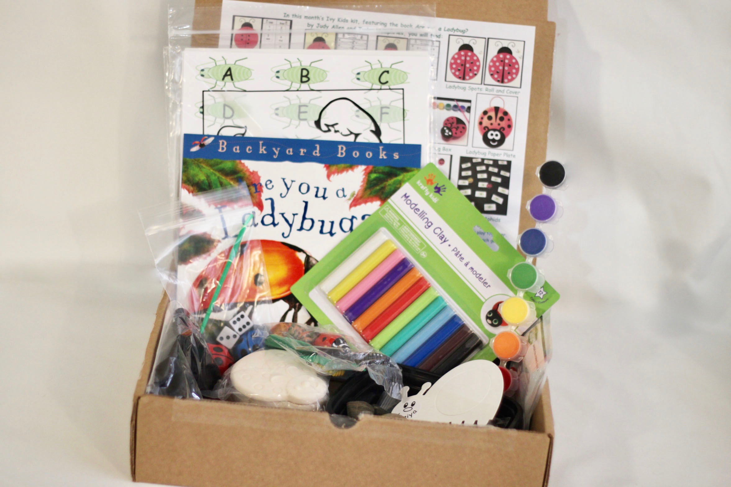 Ivy Kids Subscription Box Review - April 2017