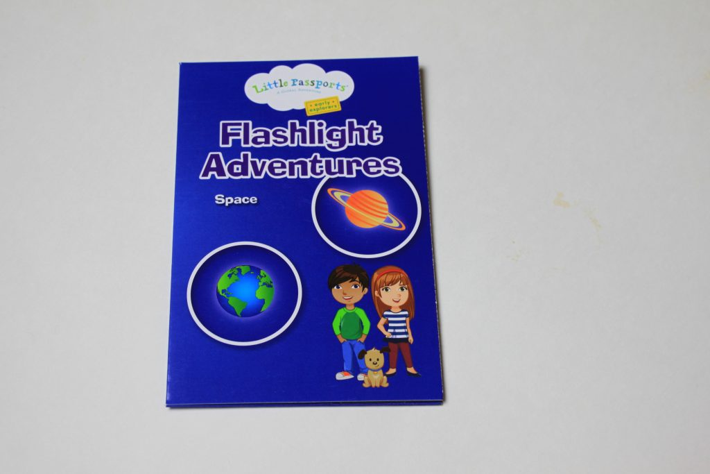 Little Passports flashlight adventures activity