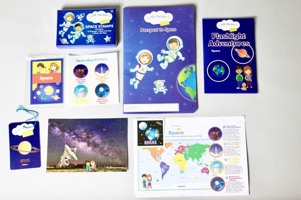 What's inside Little Passports Early Explorer May box