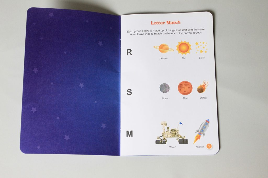 Little Passports Passport booklet Space themed