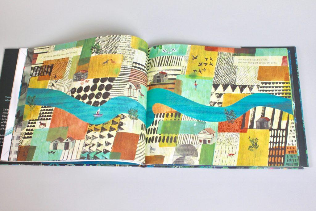 KidArtLit Subscription Box Review - A River Picturebook