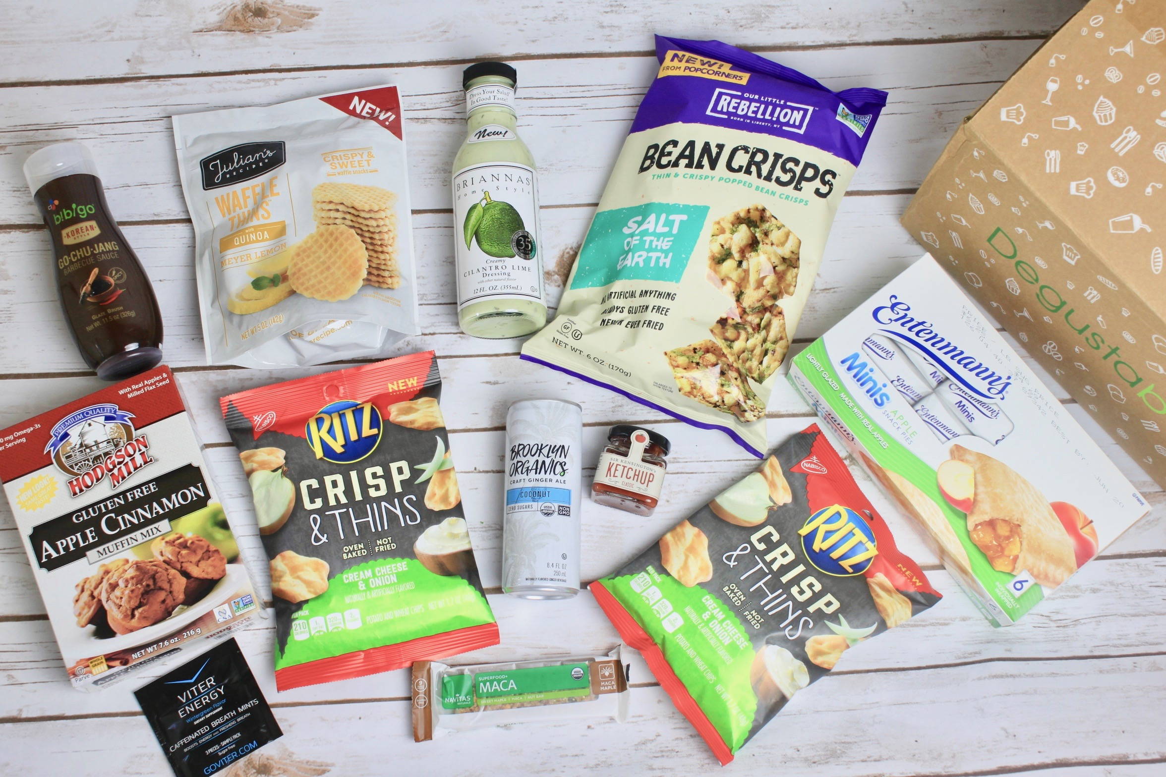 Degustabox Subscription Box Review + 50% off coupon – June 2017