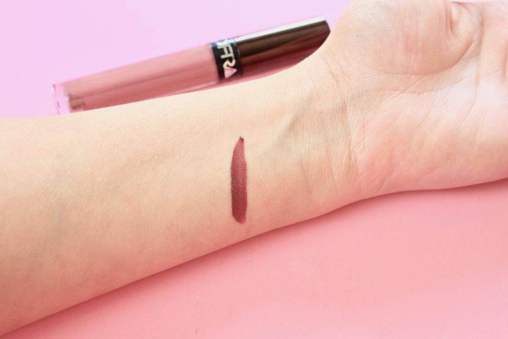 OFRA Cosmetics Liquid Lipstick swatch