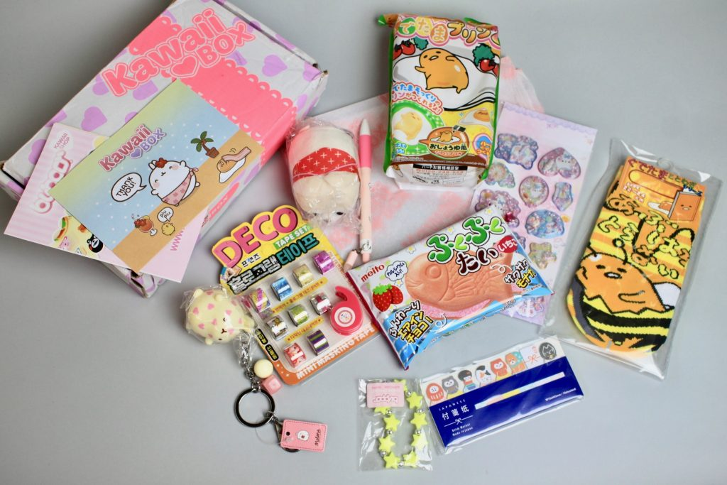 Kawaii Box Subscription Review - June 2017