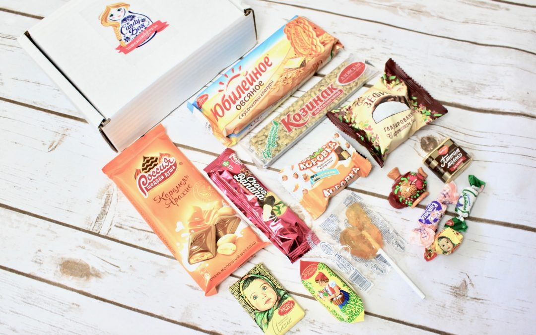 Candy Box Russia Subscription Box Review
