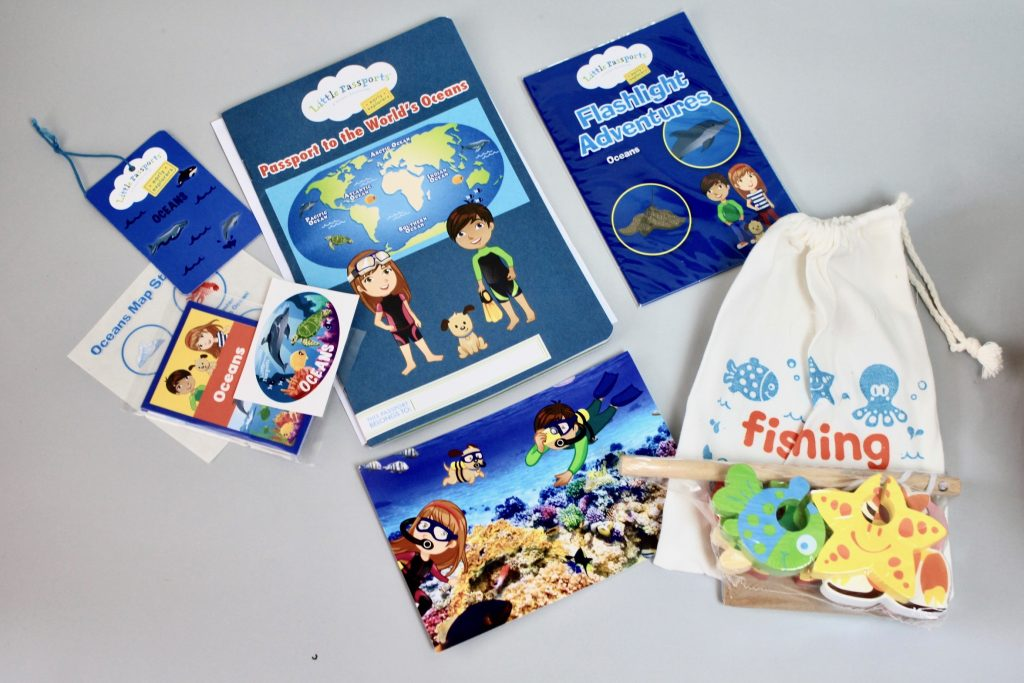 Little Passports Early Explorers Subscription Review - July 2017