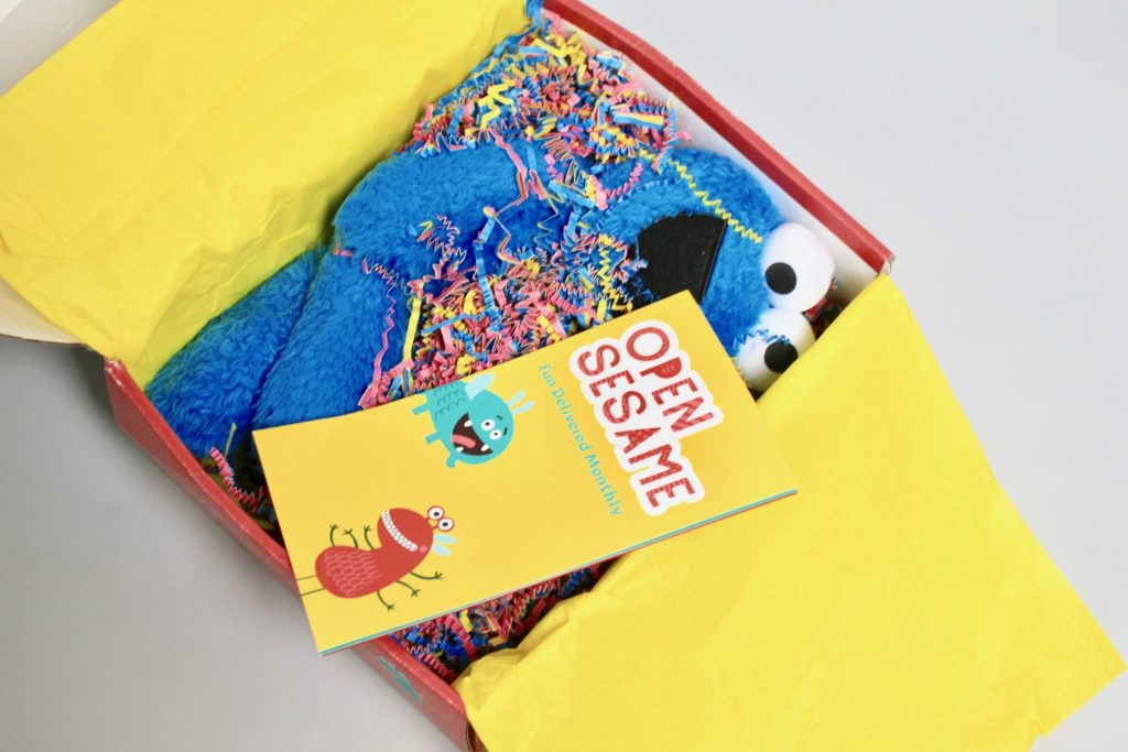 Open Sesame Kids Subscription Box Review - July 2017