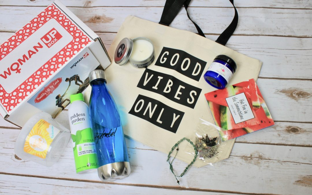 Woman Up Box Subscription Review – July 2017