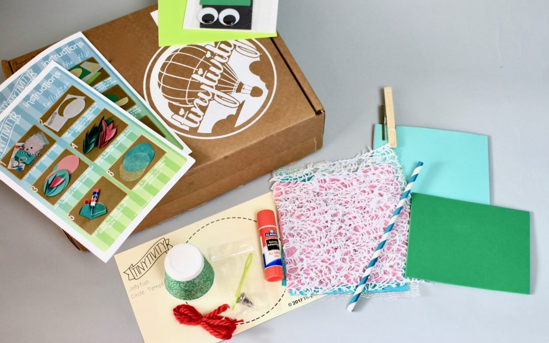 Tinytivity Subscription Box Review – July 2017