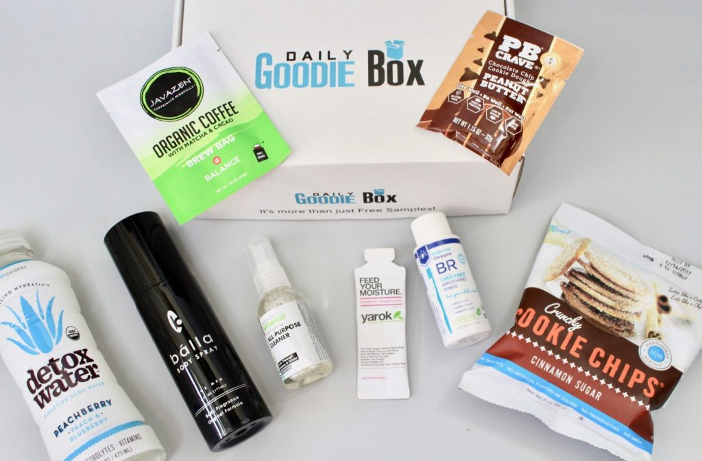 Daily Goodie Box August 2017 Review