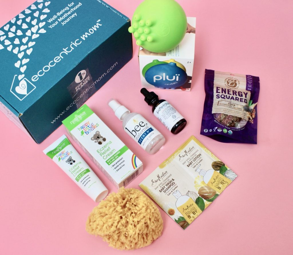 Ecocentric Mom & Baby Subscription Review + Exclusive Coupon Aug 2017