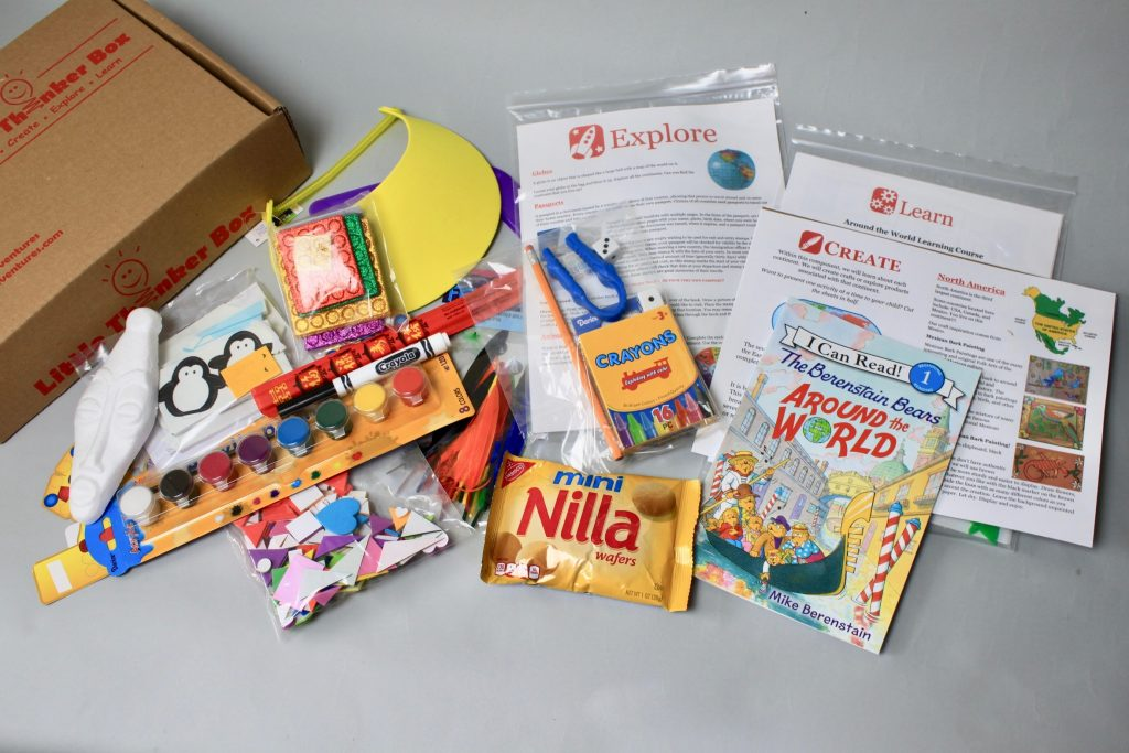 Little Thinker Box Kids Subscription Review July 2017