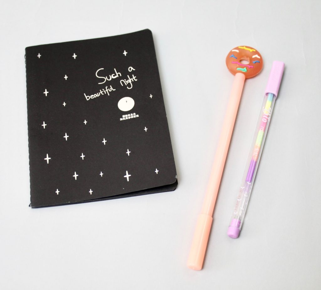 In Your Case Stationery Subscription Box Review - August 2017