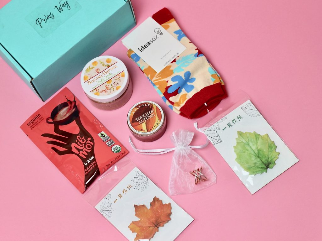 Prims Way Subscription Box Review - September 2017