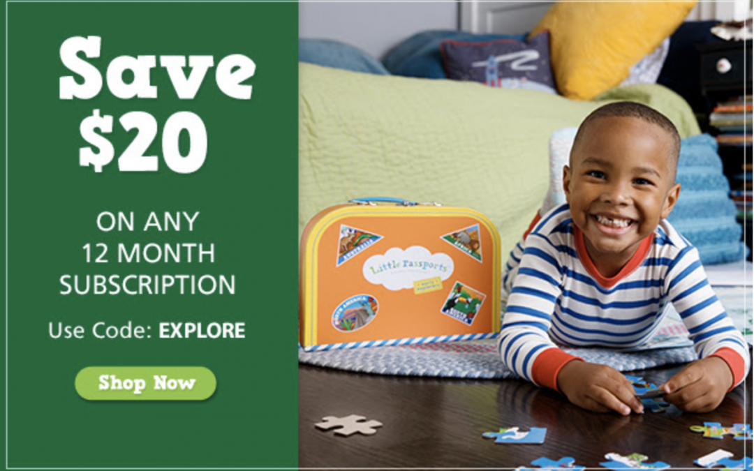 Little Passports – Save $20 on a Year Of Learning! Coupon Inside