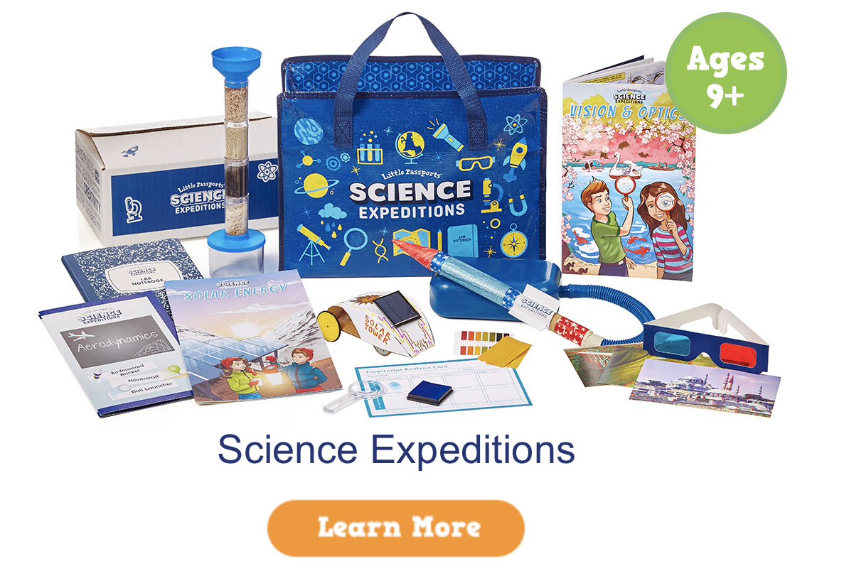 Little Passports Science Expedition $20 Coupon