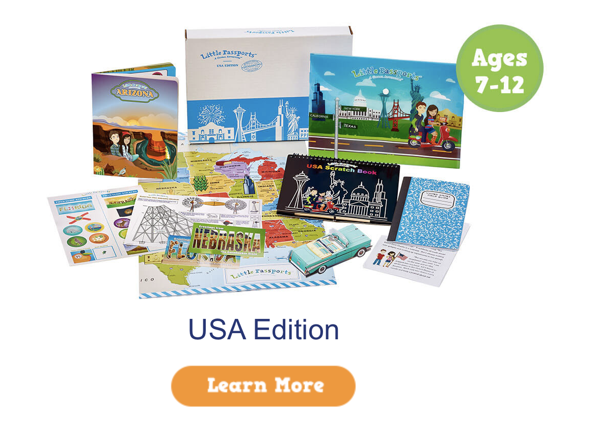 Little Passports USA Edition $20 Coupon