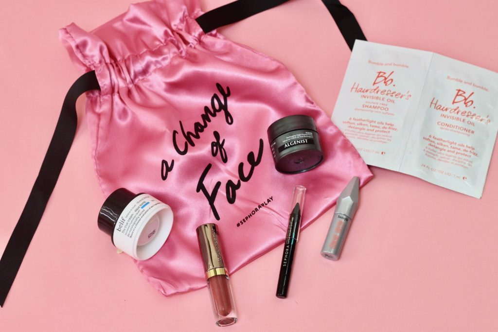 Play! By Sephora Subscription Review - September 2017