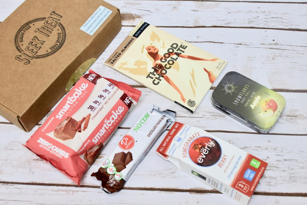 Sleek Treat Subscription Box Review - August 2017