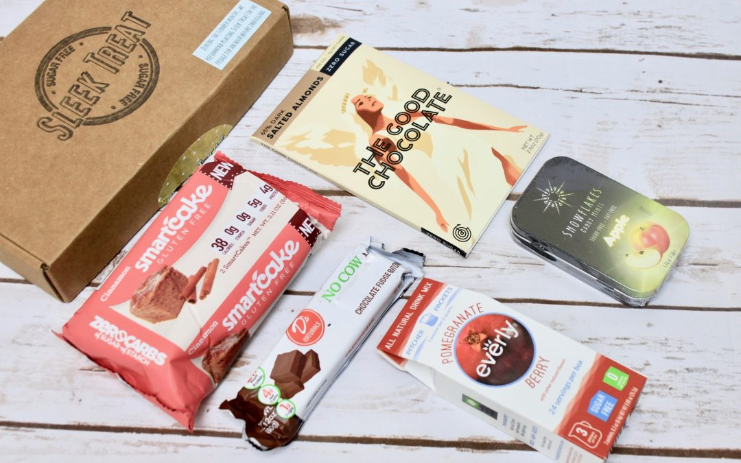 Sleek Treat Subscription Box Review – August 2017