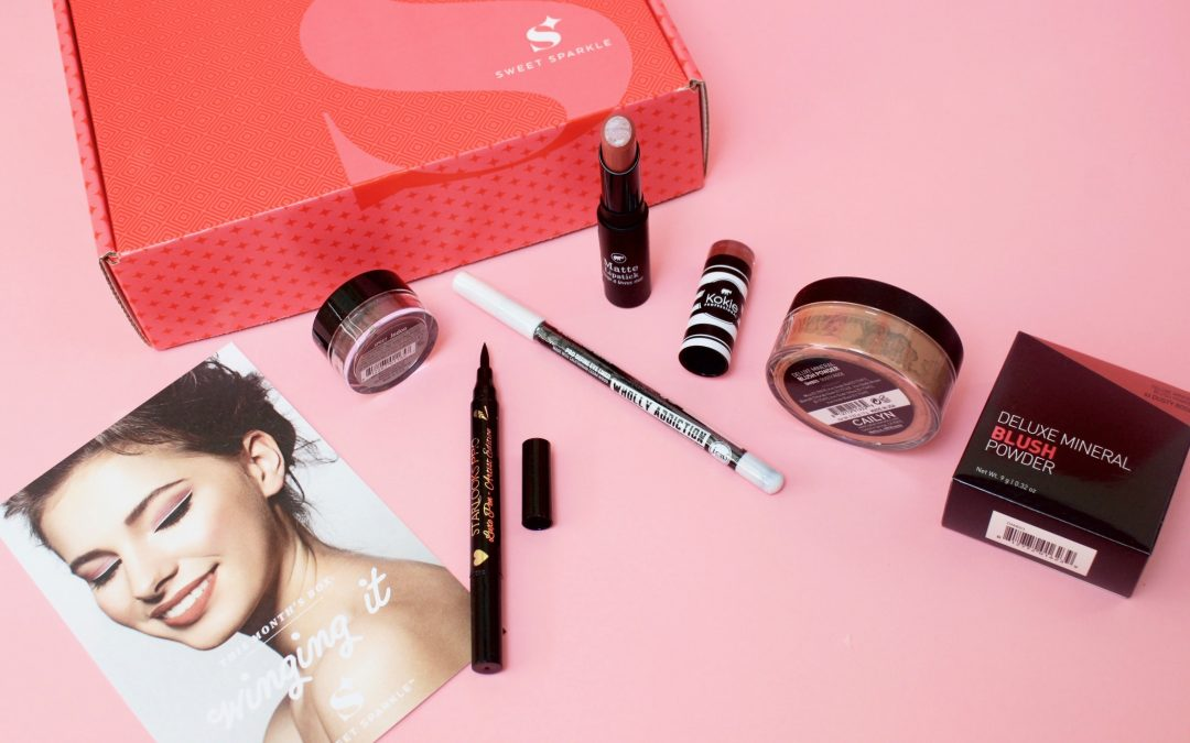 Sweet Sparkle Beauty Subscription Box Review – September 2017