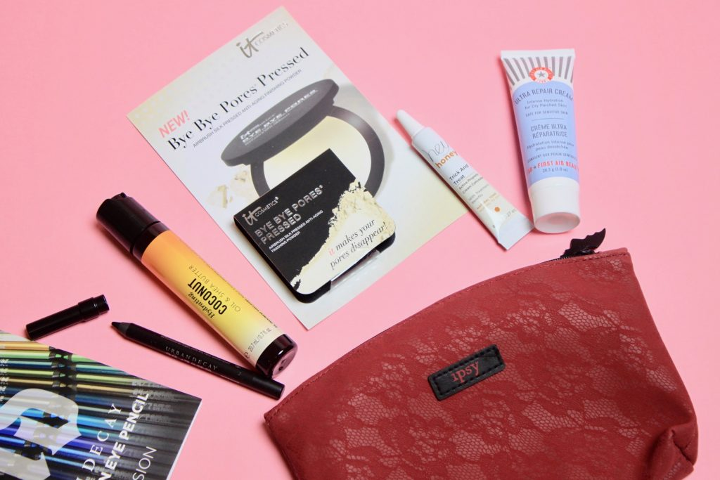 Battle Of The $10 Beauty Subscriptions: Ipsy Glam Bag Vs. Sephora Play! - Oct 2017