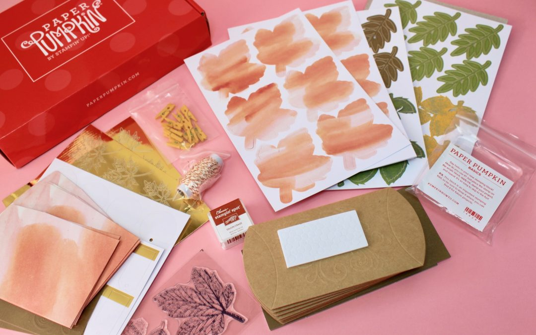 Paper Pumpkin Subscription Box Review – September 2017