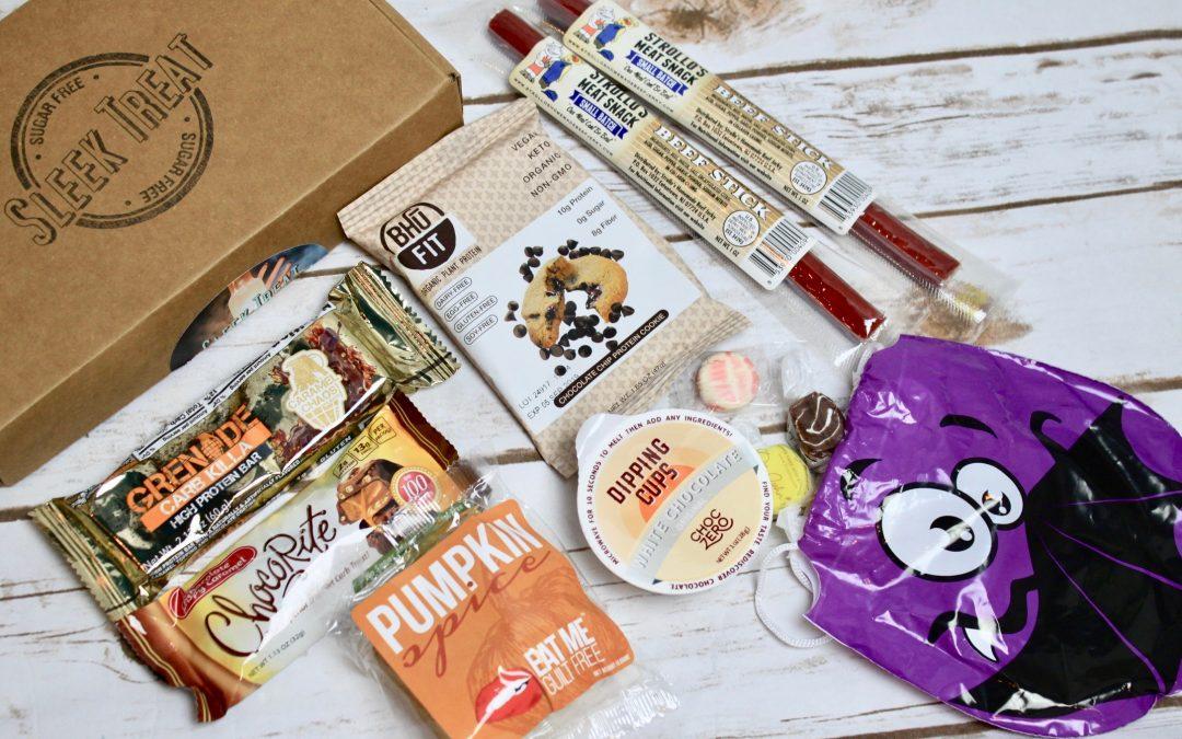 Sleek Treat Sugar-Free Subscription Box Review – October 2017