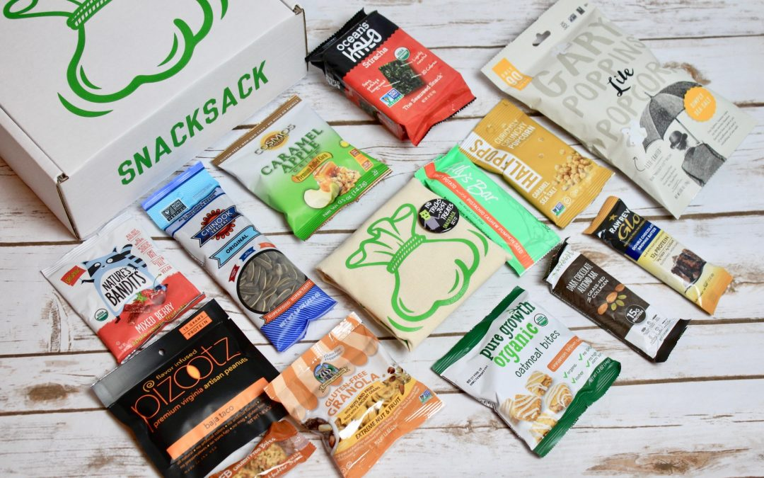 SnackSack Classic Subscription Review + Exclusive Coupon – October 2017