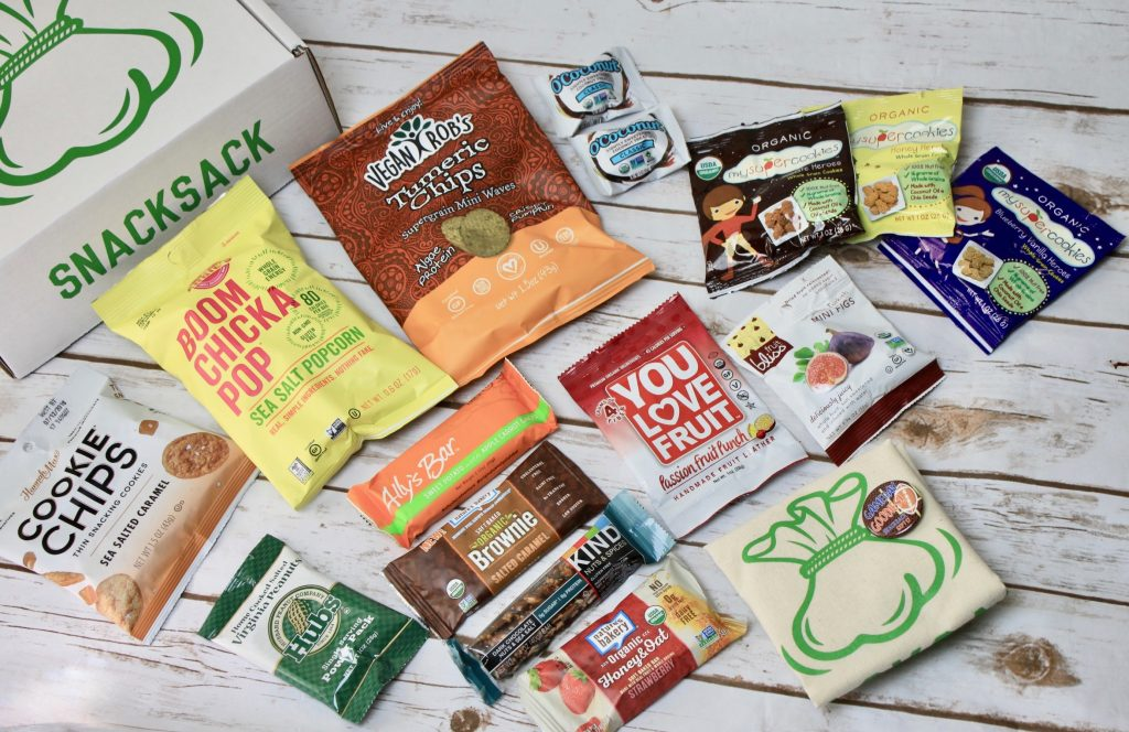 SnackSack Subscription Box Review + GIVEAWAY - September 2017