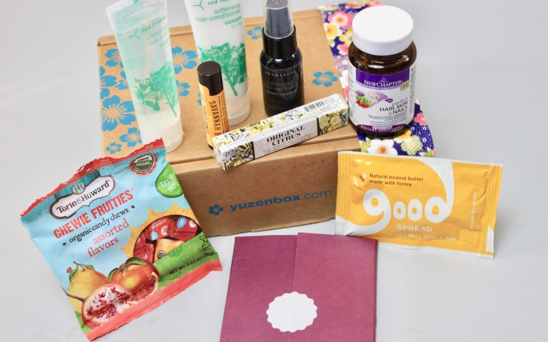 Yuzen Subscription Box Review – Fall 2017