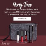 Julep – FREE 6-pc Holiday Gift Set with any $40 purchase – Coupon Inside!