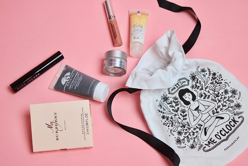 Sephora Play! Subscription Box Review - November 2017