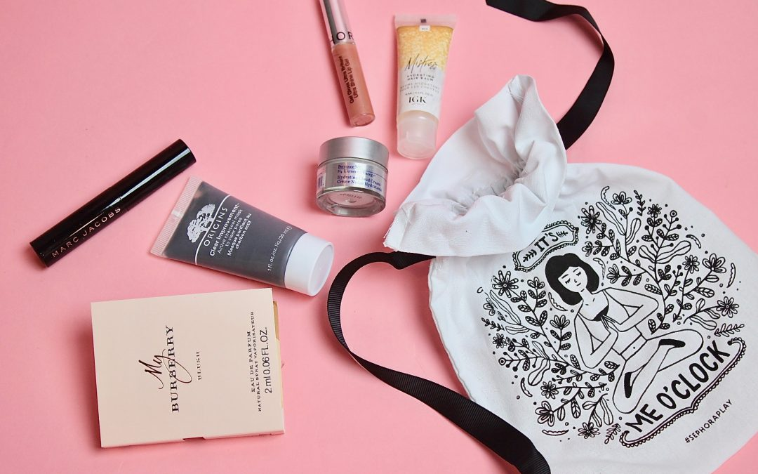 Sephora Play! Subscription Box Review – November 2017