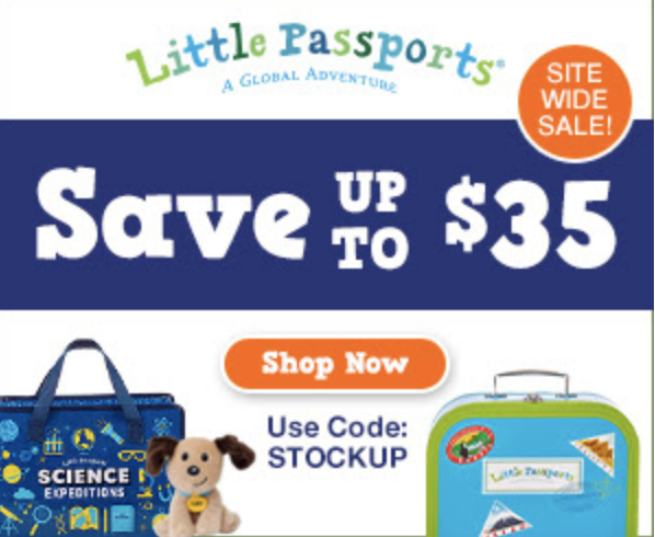 Little Passports – Site-Wide Savings End Tonight! Save Up To $35