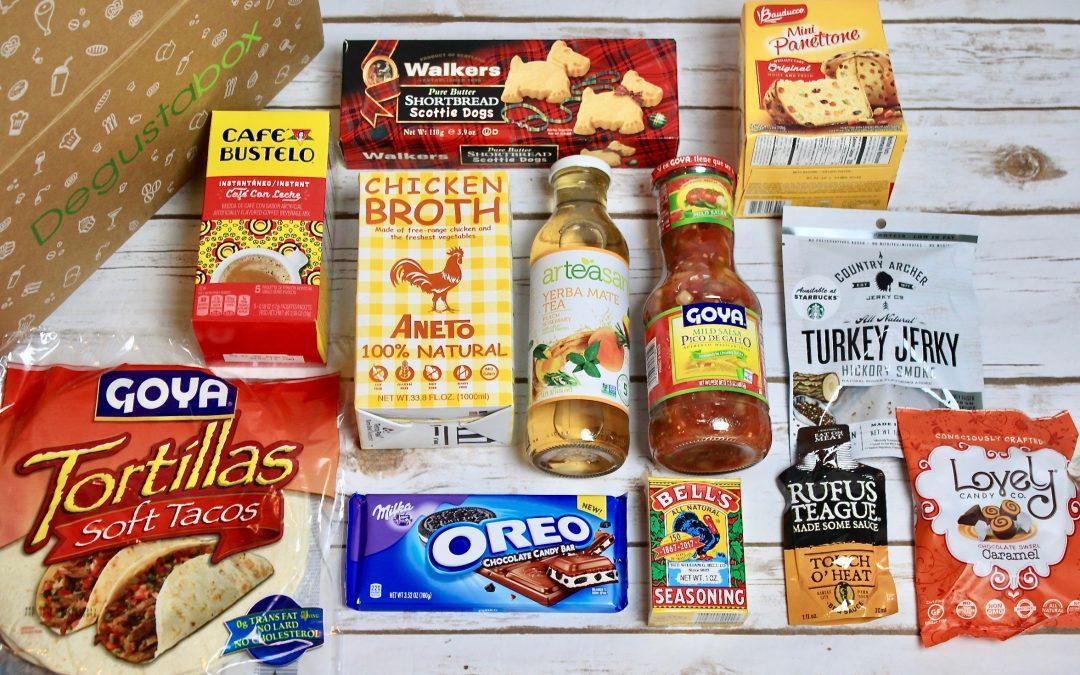 Degustabox Subscription Box Review + Coupon – November 2017