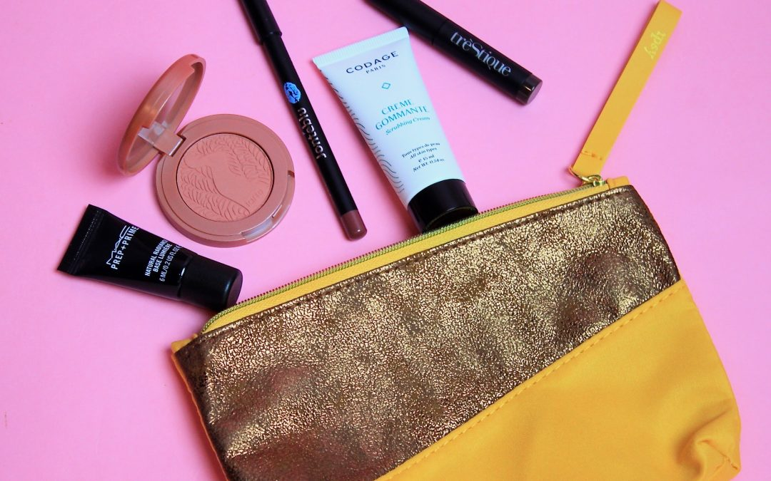 Ipsy Glam Bag Subscription Review November 2017