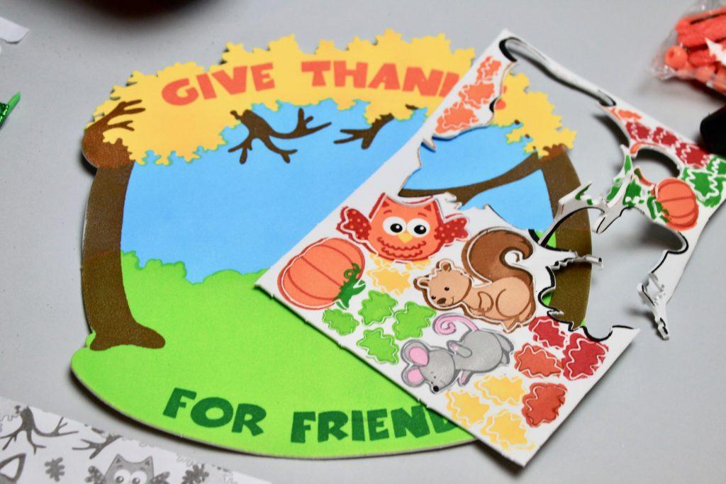 DoodleBug Busy Bags Kids Subscription - November 2017