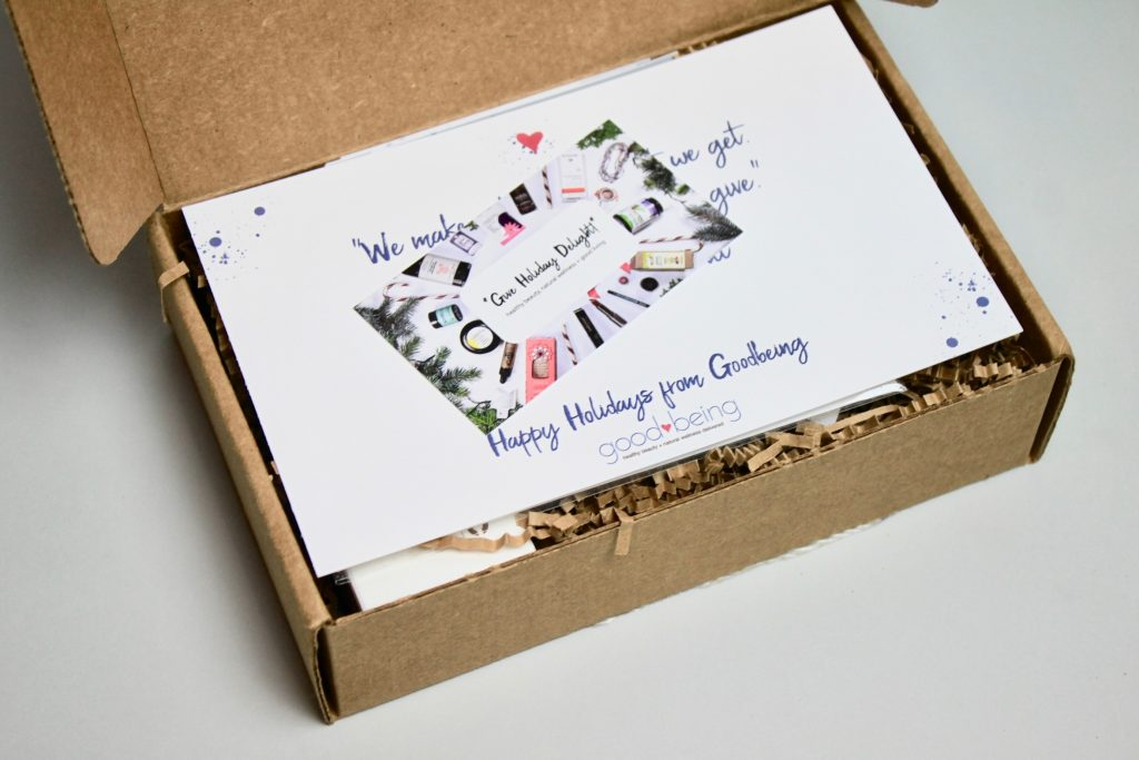 Goodbeing Subscription Box Review + Coupon - December 2017