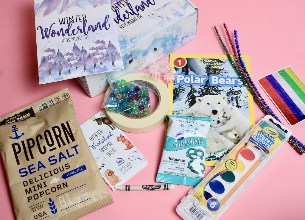 Kids Night In Subscription Box Review - December 2017