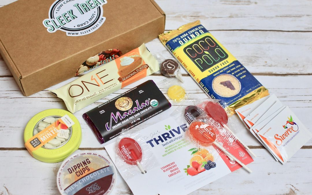 Sleek Treat Subscription Box Review – November 2017