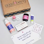 Goodbeing Subscription Box Review + Coupon – December 2017