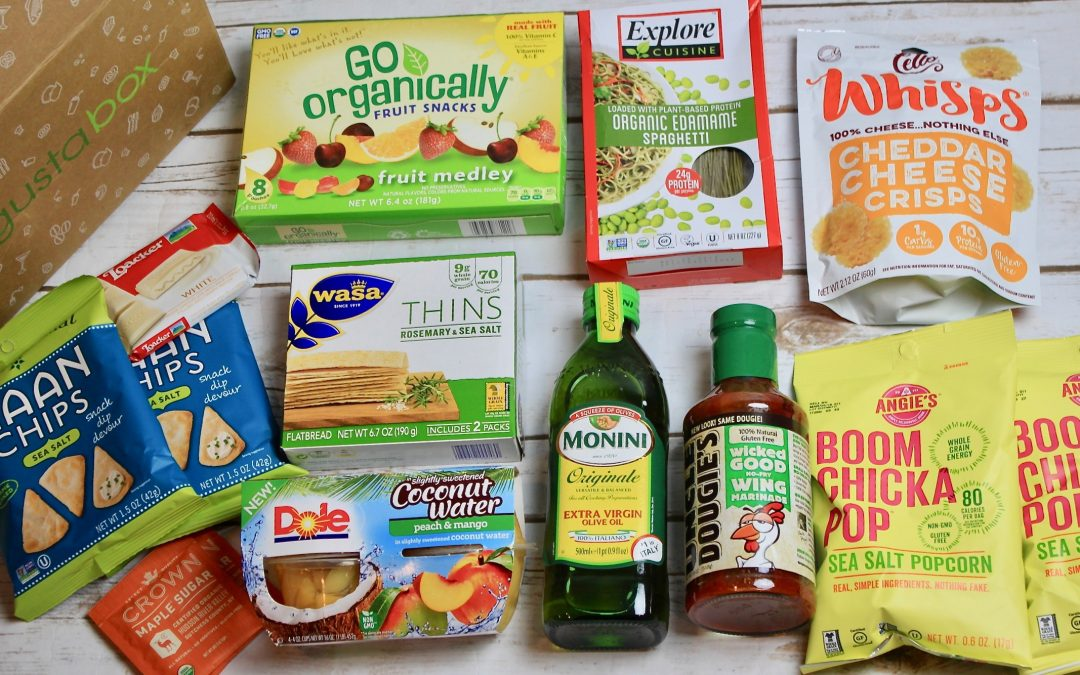 Degustabox Subscription Box Review + 50% Off Coupon – January 2018