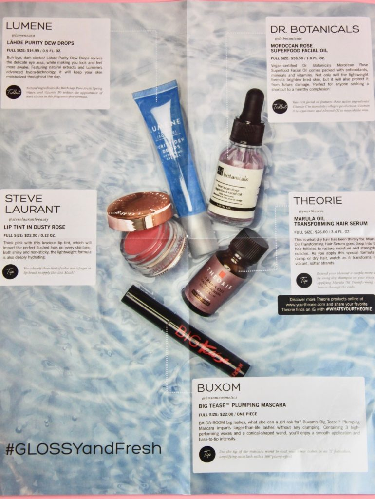 January 2018 Glossybox Subscription Box Review Unboxing