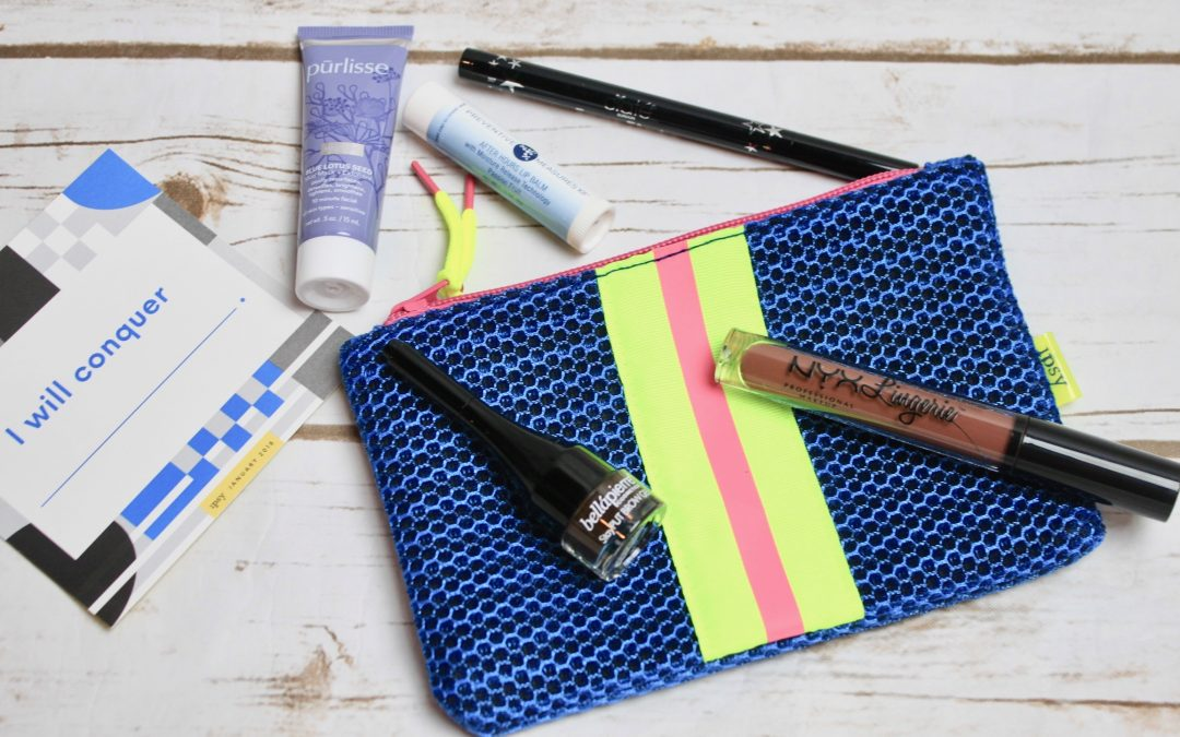 Ipsy Glam Bag Subscription Box Review January 2018